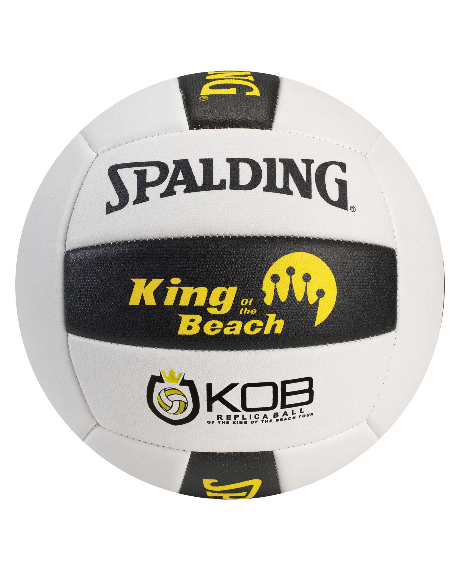 spalding volleyball black and white