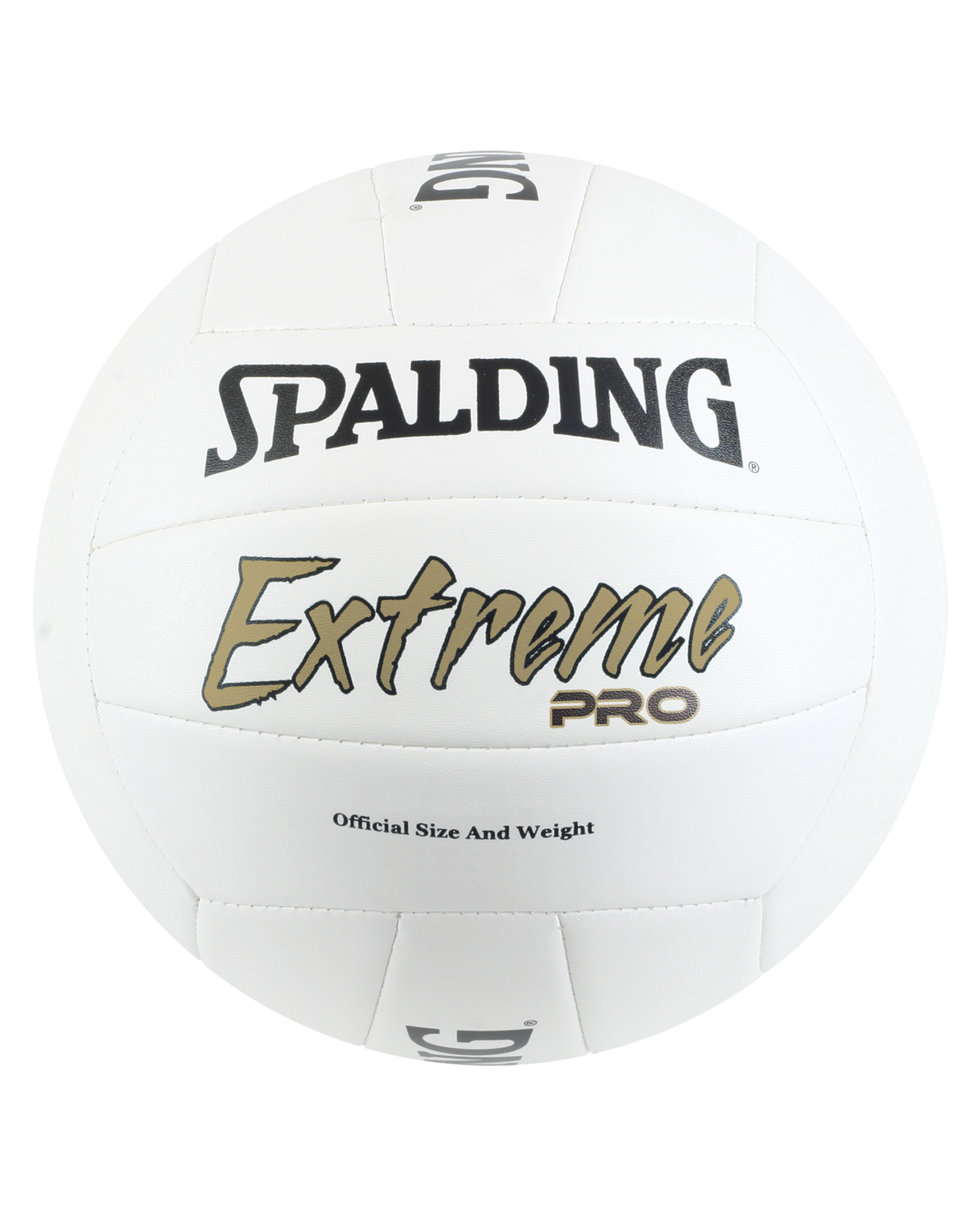 spalding volleyball white