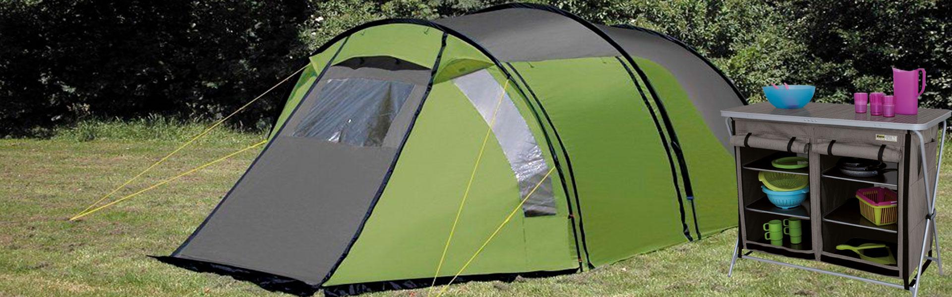 eurotrail telt og kjøkken